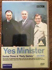 Paul Eddington Nigel Hawthorne YES MINISTER Series 3 ~ Classic BBC Sitcom UK DVD