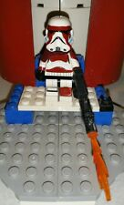 Lego Star Wars Flametrooper Commander Inferno Custom Stormtrooper
