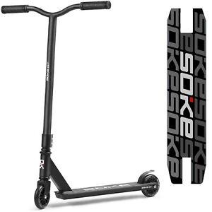 Stunt Scooter Roller SOKE GO! Kickscooter mit ABEC 9 Kugellager schwarz