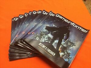 LOT OF 10 GAME Informer Magazine | Issue #304 | August 2018 Destiny 2: Forsaken