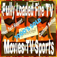 Amazon Fire TV 4k w/ Alexa, TV Shows, Movies & Sports- New- Still in Cellophane