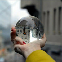 120mm K9 Clear Crystal Ball Photography Lens Photo Glass Xmas Gift Home Decor