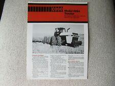 Case Caseih 4994 Tractor Brochure