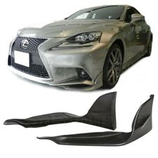 For 2014-2016 Lexus IS250 IS350 F-Sport Sedan Front Bumper Lip Corner Splitters