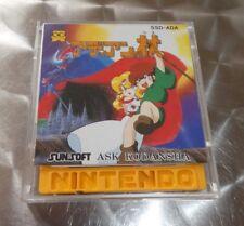 GAME NITENDO FAMICOM/NES JAPANESE DISK SYSTEM Adian no tsue SSD-ADA SUNSOFT 1986