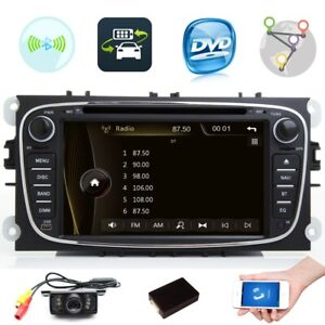 "7""Head unit  For Ford Focus Mondeo S/C-Max Galaxy 2 Din DVD Navigation Bluetooth"