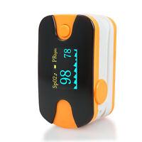 Portable Fingertip Pulse Oximeter Spo2/PR Blood Oxygen Heart Rate Monitoring USA