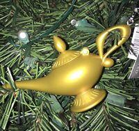 DISNEY Aladdin Genie In The Lamp Christmas Ornament