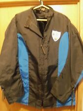 Trim Leathers made in St.Pete Fl. mens XL nylon motorcycle jacket Blue Knights
