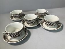 Adams Sharon Style 5  Cups And  5 Saucers