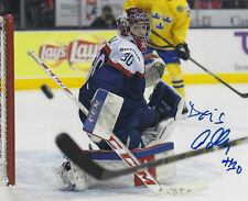 Denis Godla Autographed Signed 8x10 Photo - w/COA NHL Finnish KalPa