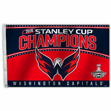 Washington Capitals NHL Stanley Cup 2018 Hockey Champions 3 by 5 Banner Flag