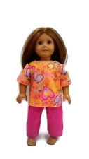 "Scrubs fits American Girl 18"" Doll Clothes  Dentist Print Scrubs"
