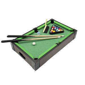 Mini Tisch Pool Billardtisch Billard Spiel Party Spiel Komplett Set