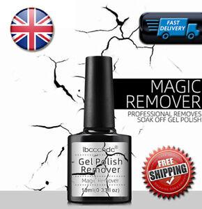 Gel Nail Polish Remover Magic Soak Off Burst Nail Varnish Cleaner Manicure Gel ✅