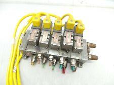 5 Numatics 031SA415E 24VDC Solenoid Valve Assembly 226-470B Plug In