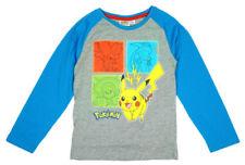 Vêtements à motif Graphique manches longues en polyester pour garçon de 2 à 16 ans
