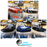 Hot Wheels 2020 Fast & Furious Full Force H Case Set 5 Cars