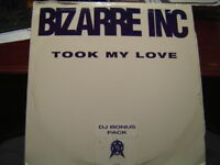 "BIZARRE INC. TOOK MY LOVE 12""  DJ TRIPLE PACK PROMO"