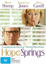Hope Springs (DVD, 2012) R-4, NEW AND SEALED, FREE POST WITHIN ASUTRALIA