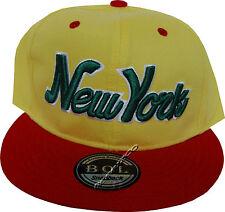 BOL Headwear Snapback Embroidered Flat Peak Baseball Caps