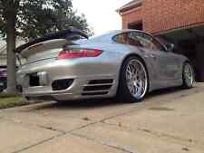 PORSCHE 997 TURBO BUMPER REAR DIFFUSER SPOILER SKIR VALNCE KIT 2007 TO 2012