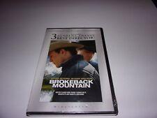 Brokeback Mountain (DVD, 2005, Widescreen) Heath Ledger / Brand New