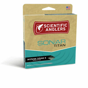 Scientific Anglers Sonar Titan Int/ Sink 3/ Sink 5 Fly Line FREE SHIPPING