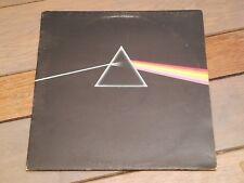PINK FLOYD- DARK SIDE OF THE MOON- UK VINYL LP A6/B7 - 2x POSTER- blue triangle