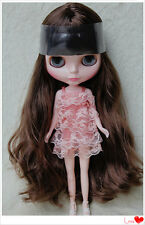 """12"""" Takara Neo Blythe Dolls from Factory Nude Dolls Brown Curls Hair"""