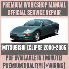 *WORKSHOP MANUAL SERVICE & REPAIR GUIDE for MITSUBISHI ECLIPSE 2000-2005 +WIRING