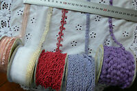 Mixed Red & Purple BRAID & Sheer RIBBON 9-40mmWide 3Metre Lengths 5 Style Choice