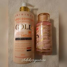 Pure Egyptian Magic Whitening Gold Lotion  Lotion+Glutathione Comprime serum
