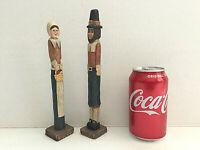 Vintage Pencil Pilgrim Figurines Wang's 1993