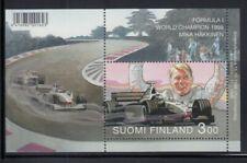 FINLAND Mika Häkkinen, Formula 1 World Champion MNH souvenir sheet