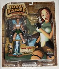 "7"" Tomb Raider Lara Croft and Crocodile action figure set"