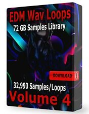 32,990+ Edm Samples Loops Edm Volume 4 Wav, Ableton, Logic, ProTools, Fl Studio