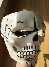 Cosplay Cos Props James Bond 007 Spectre Mens FRP Skull Skeleton Full Face Mask