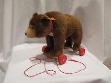 Steiff Teddy on Wheels Replica 1938 EAN 036064