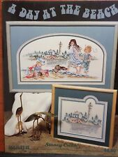A DAY AT THE BEACH CROSS STITCH PATTERN, From Stoney Creek Collection