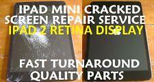 Ipad Mini 2 Retina Damaged Cracked Screen Replacement Repair Service Black White