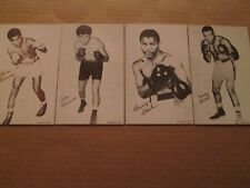 1980 Boxing Exhibits 16 Card Set COMPLETE – CLAY,LISTON,PATTERSON,ROBINSON