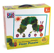 The Very Hungry Caterpillar enfants puzzle de sol 24 Jumbo pièces Jigsaw 3 ans