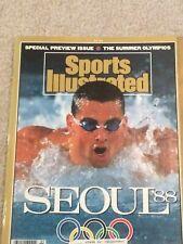 Vintage Sports Illustrated 1988 Olympics Issue