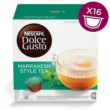 Nescafe Dolce Gusto Marrakesh Style Tea Capsules, 16 Pods, 16 Drinks