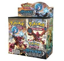 Pokemon XY Steam Siege Booster New Sealed TCG Card Game - Half Booster Box