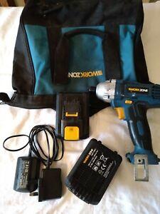 Work Zone 18V Impact Driver full kit