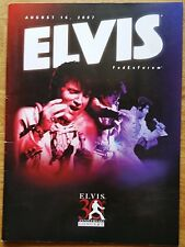 ♫ ELVIS PRESLEY program 'August 2007 Fed Ex Forum Concert' - lot 51 ♫