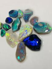 Australian Opal ROUGH High Grade Bright beautiful Rough Rubs 28ct #1047 VIDEO!!!