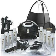 Rapidtan HVLP Airbrush Spray Tan Kit Tanning  Tent  Machine Solution Sticky Feet